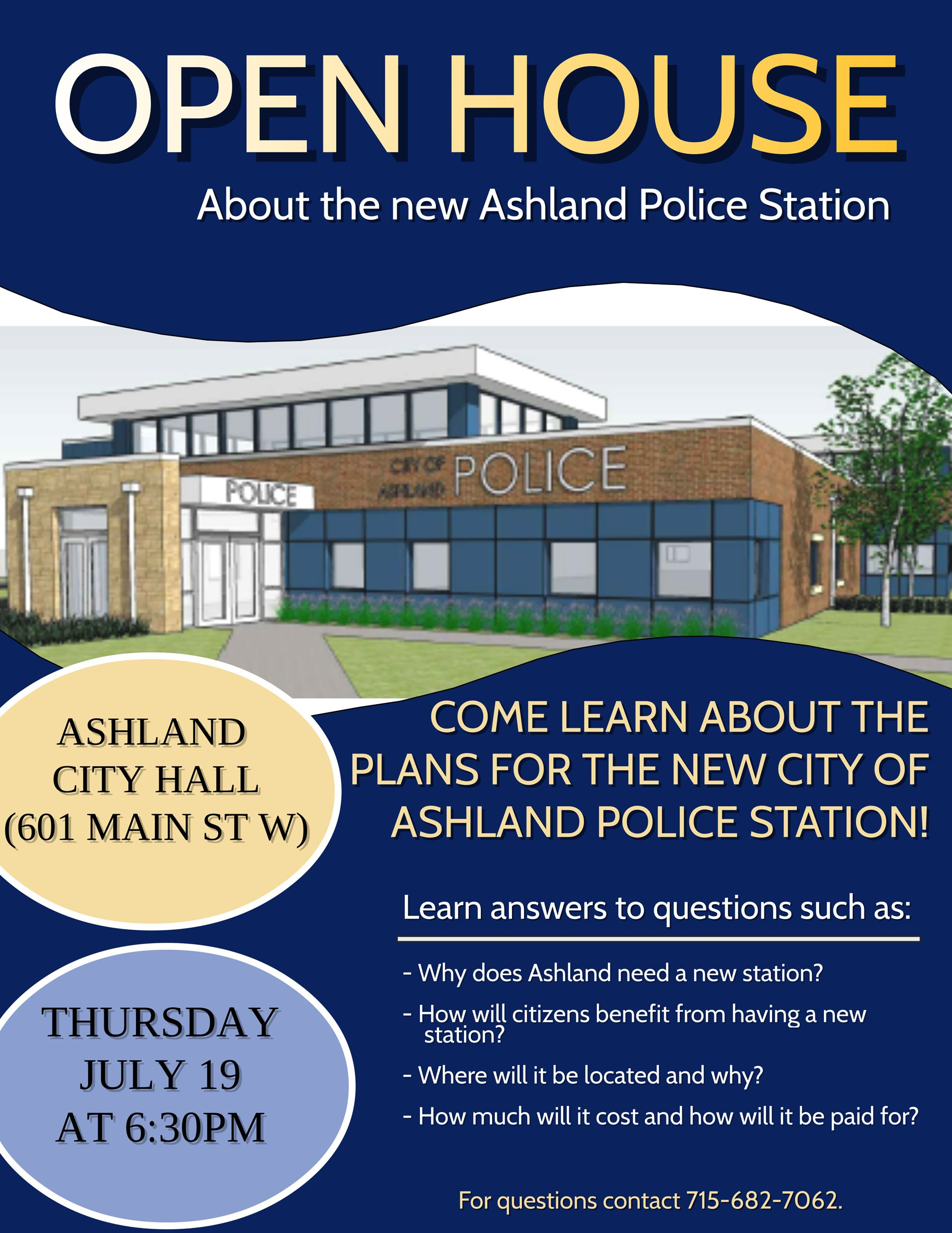 New Police Station Flyer